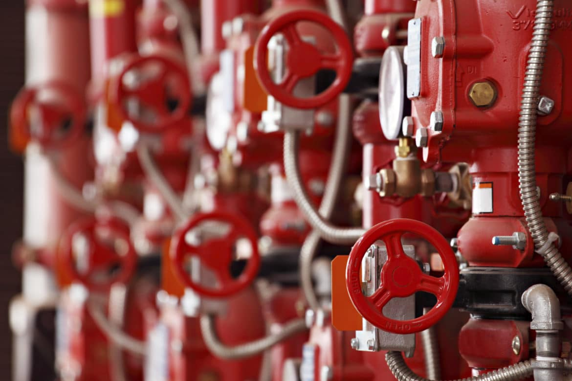 medium slider red steam valves